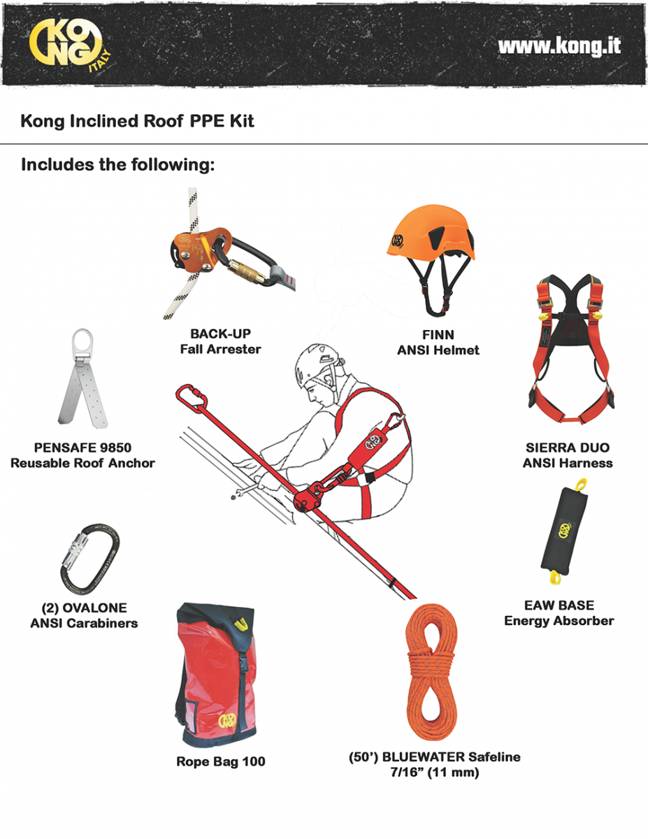 KONG Inclined Roof Kit