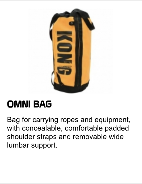 omni bag for ropes and equipment